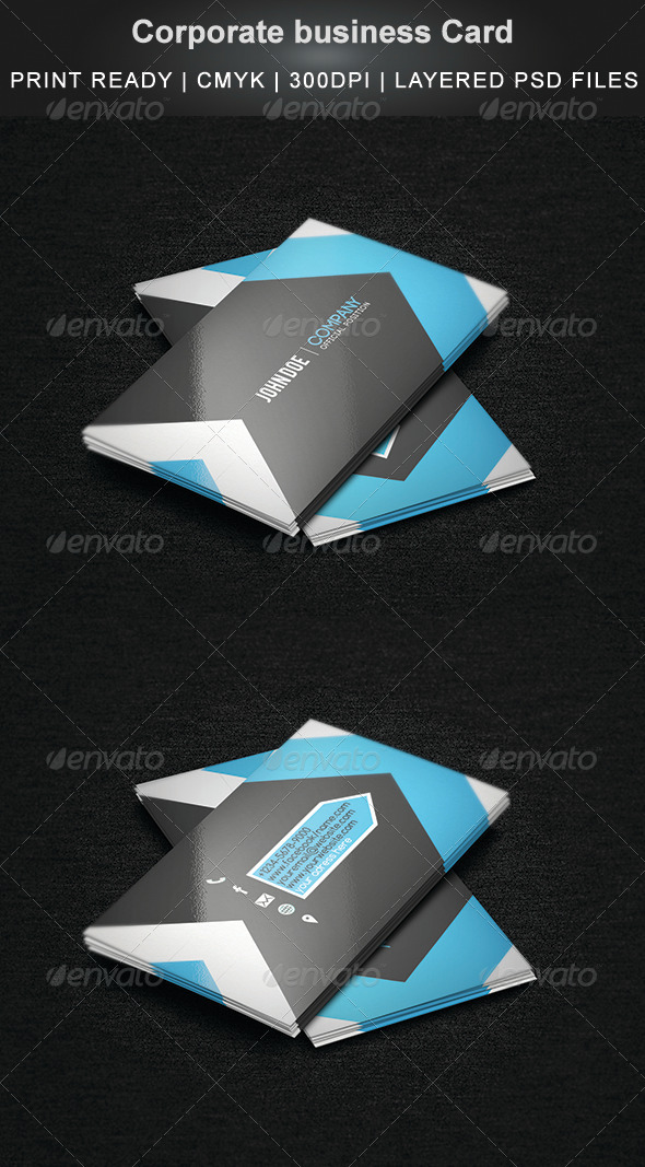 GraphicRiver Corporate Business Card 5981212