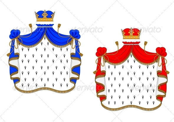 GraphicRiver Red and Blue Royal Mantles 5981372