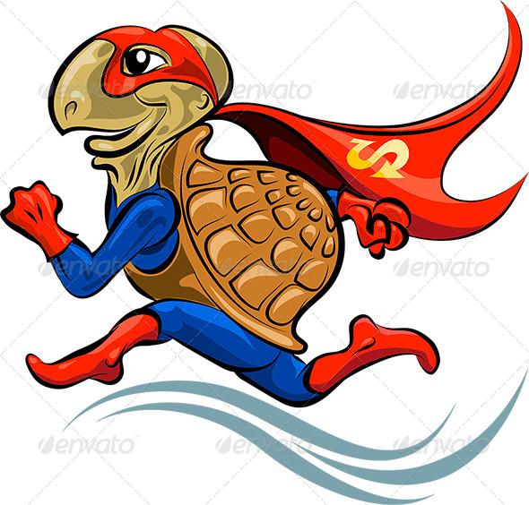 Turtle Superhero