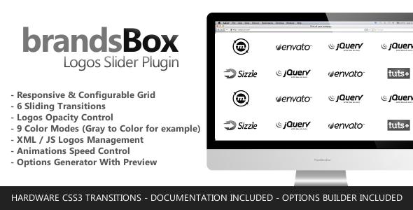 CodeCanyon brandsBox Logos Slider jQuery Plugin 5981614