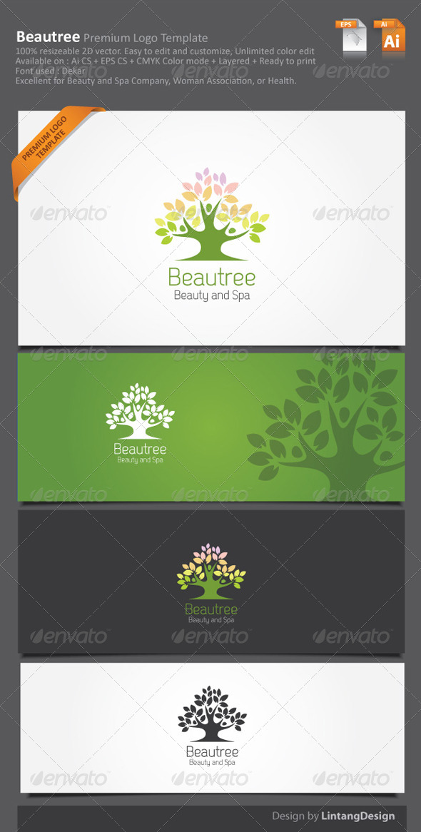GraphicRiver Tree Logo 5973020