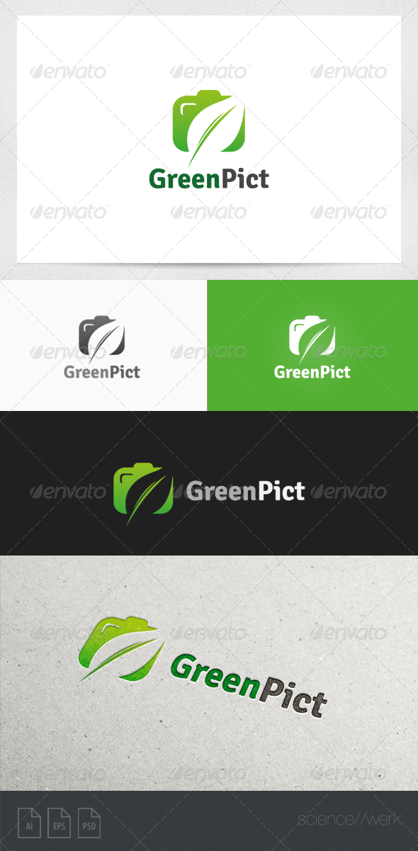 GraphicRiver Photography Logo Template 5981941