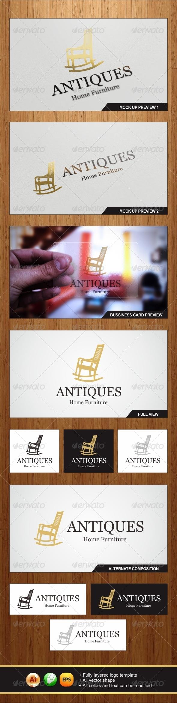 GraphicRiver Antiques Logo 5975407
