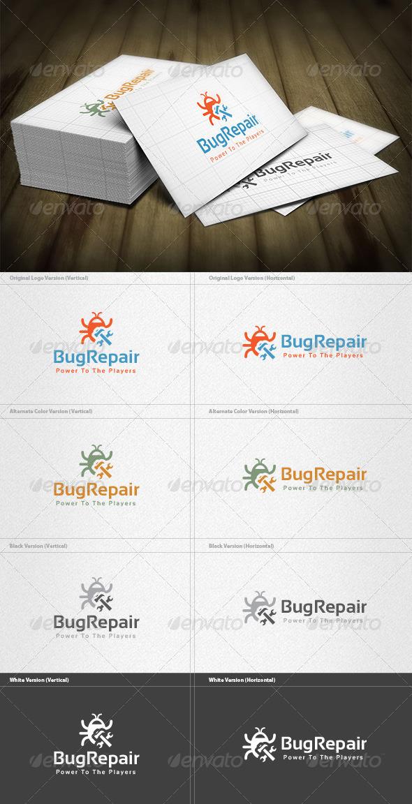 GraphicRiver Bug Repair Logo 5982324