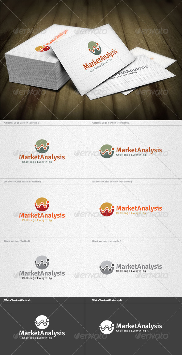 GraphicRiver Market Analysis Logo 5982326