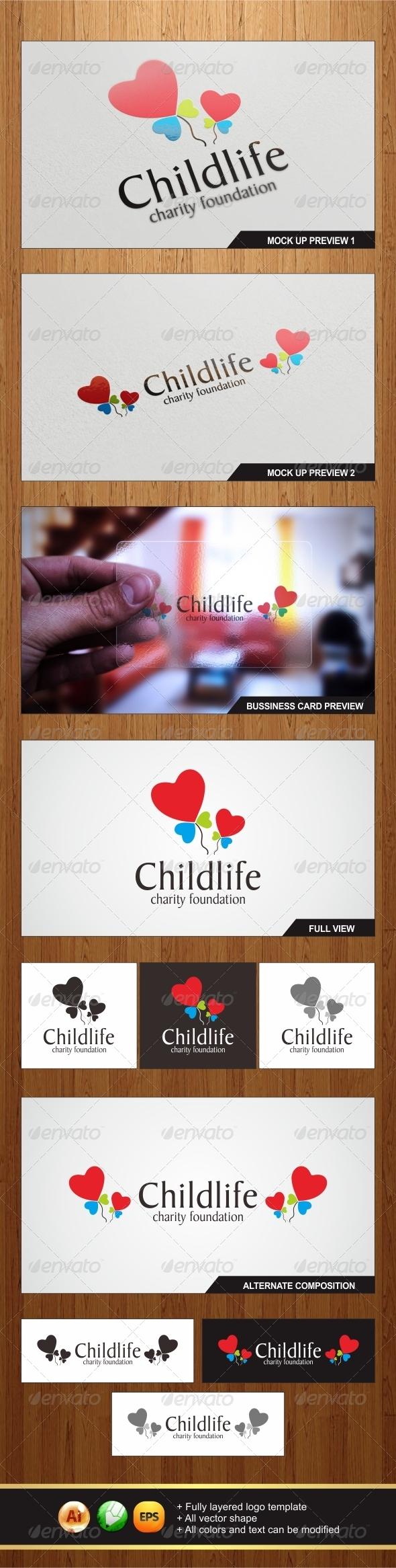 GraphicRiver Childlife Logo 5982364