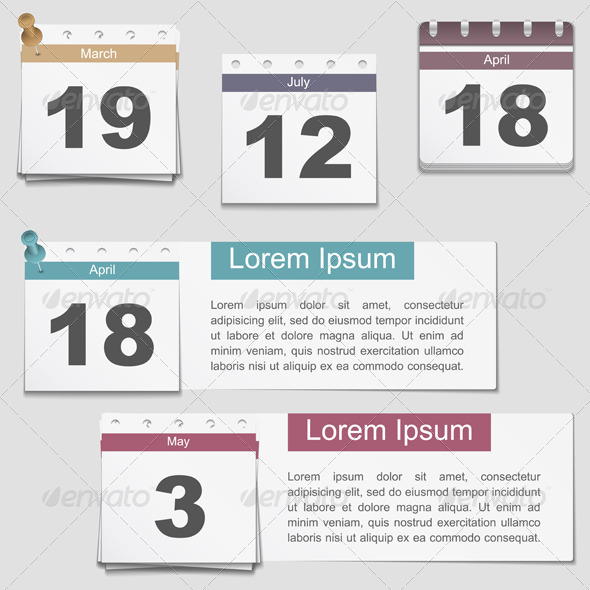 GraphicRiver Calendar Pages 5982533