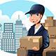 Download Vector Delivery Man