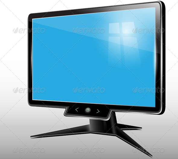 GraphicRiver Monitor Computer Display 5974778