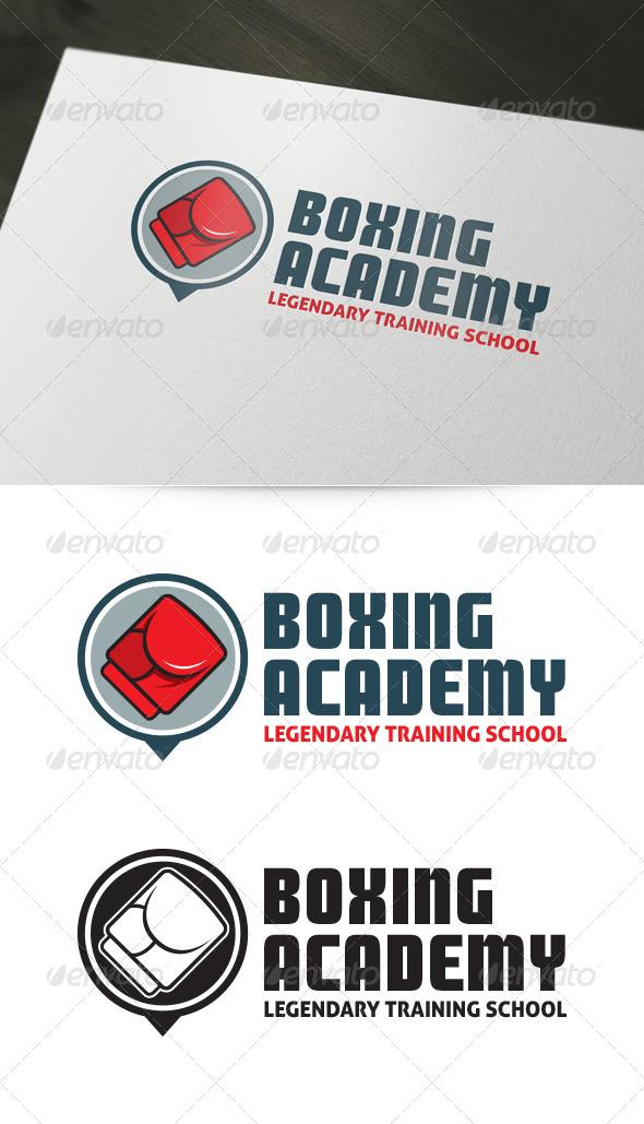 GraphicRiver Boxing Academy Logo 5983267