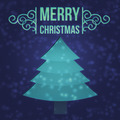 Blue Christmas Card Background - PhotoDune Item for Sale