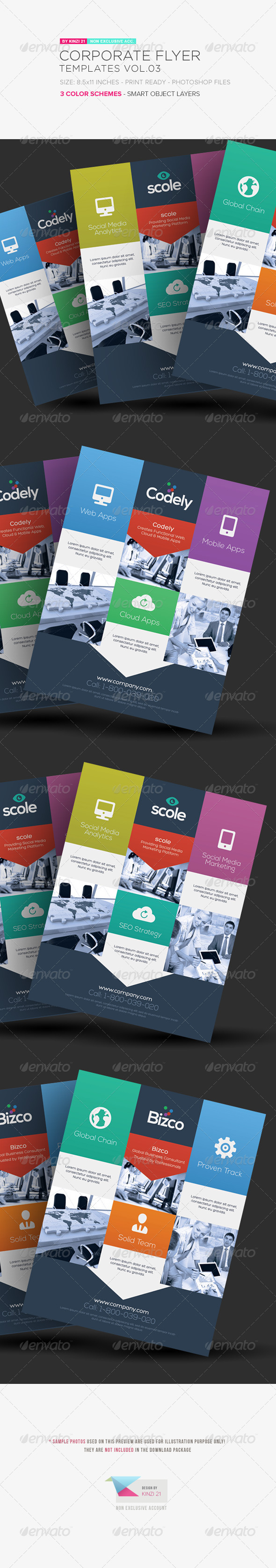 GraphicRiver Corporate Flyer Templates Vol.03 5983582