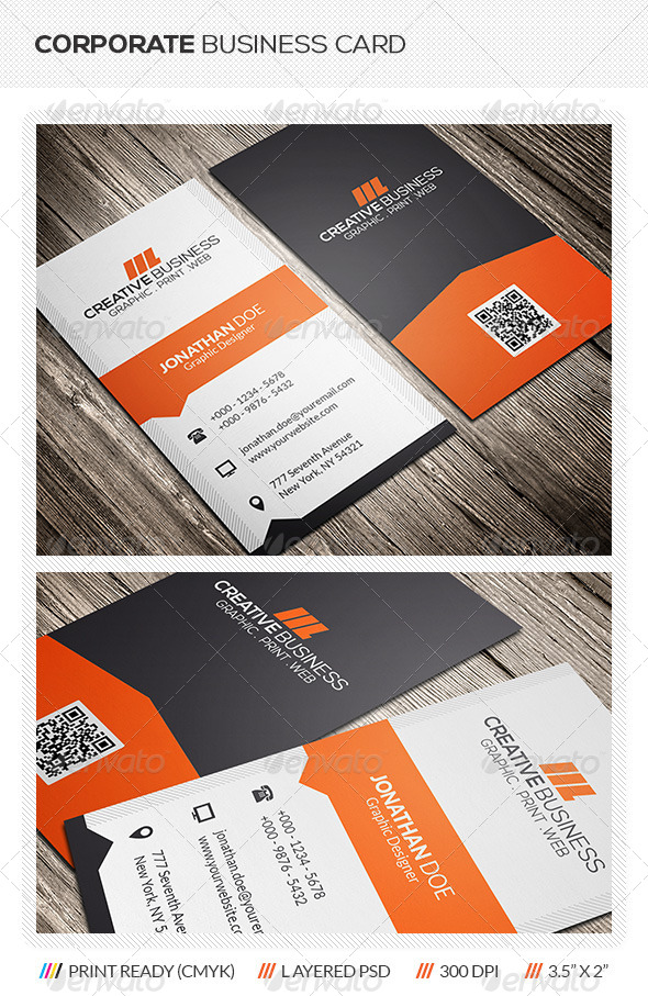 GraphicRiver Corporate Business Card 5984312