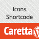 Caretta Icons Shortcode - CodeCanyon Item for Sale