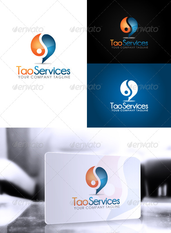GraphicRiver Tao Services Logo 5984422