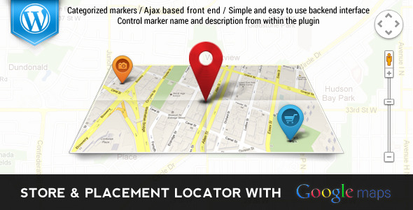 CodeCanyon Store & Places Locator with Google Maps 5958343