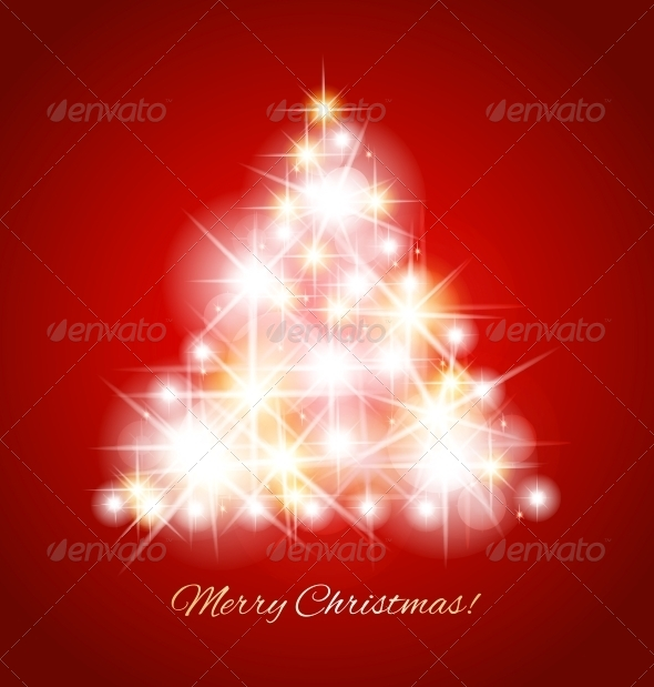 GraphicRiver Merry Christmas Vector Card 5984692