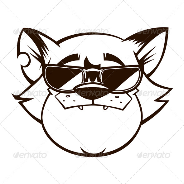 GraphicRiver Gangster Cat 5984756
