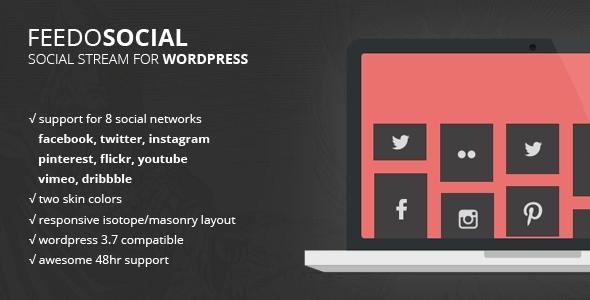 CodeCanyon Feedo WordPress Social Feed & Stream 5967474