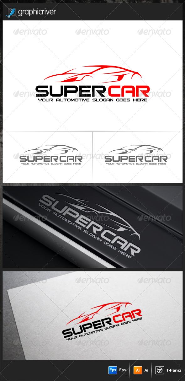 Super Car Logo Templates