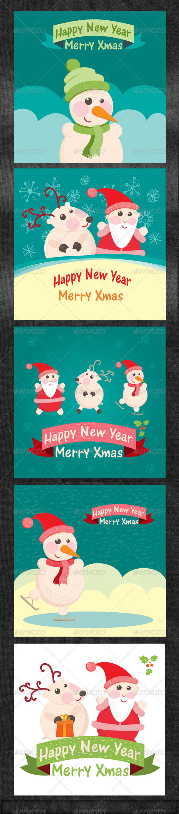 GraphicRiver Christmas Greeting Card Part 1 5985470