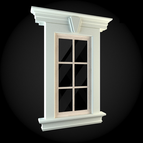 Window 001 - 3DOcean Item for Sale