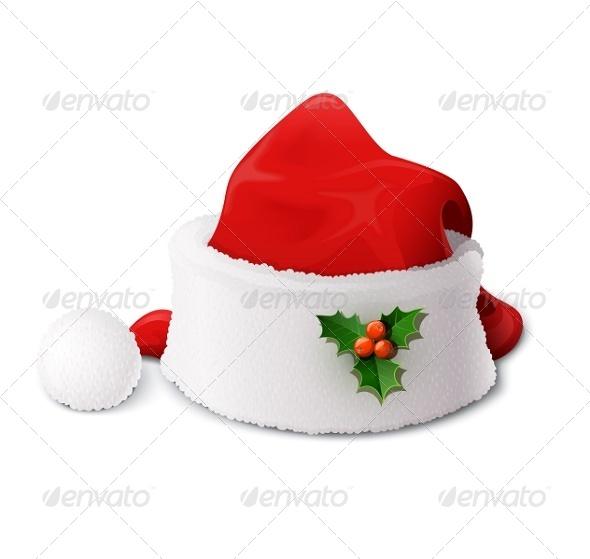 GraphicRiver Santa Claus Hat 5985863