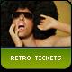 Retro Tickets - GraphicRiver Item for Sale