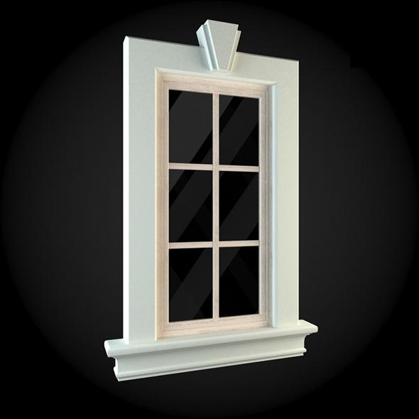 Window 002 - 3DOcean Item for Sale