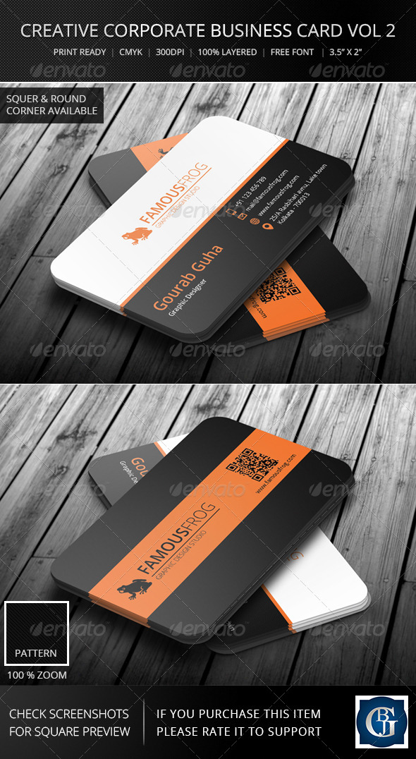 GraphicRiver Creative Corporate Business Card Vol 3 5986129