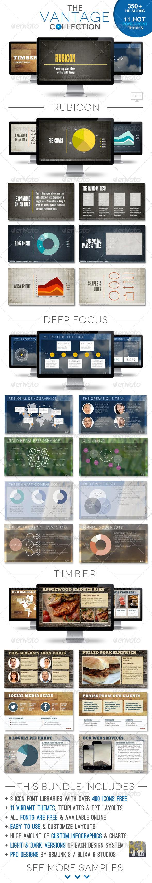 GraphicRiver Vantage Collection Powerpoint Template Bundle 5986193
