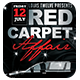 Red Carpet Affair 3 | Flyer Template - GraphicRiver Item for Sale