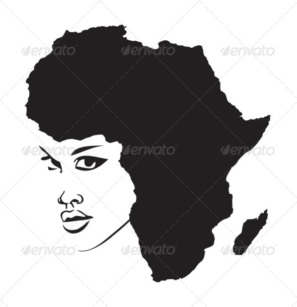 GraphicRiver Face of Africa 5986206