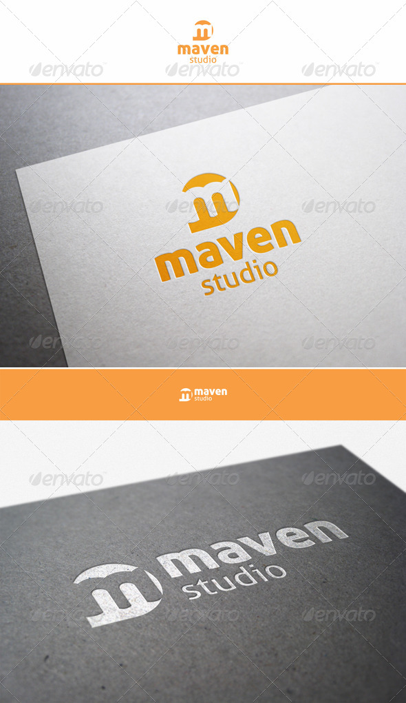 Maven Studio - M Logo - Letters Logo Templates