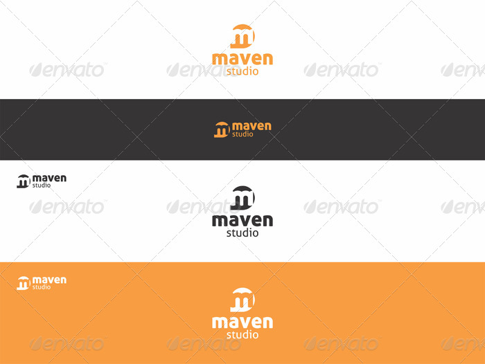 Maven Studio - M Logo