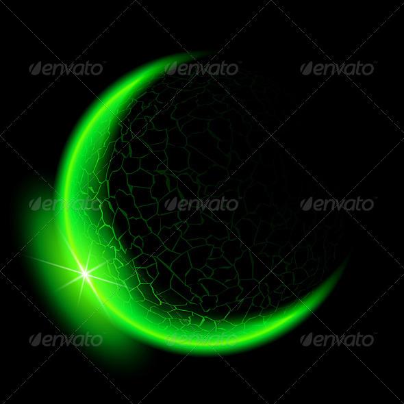 GraphicRiver Green Crescent 5986584