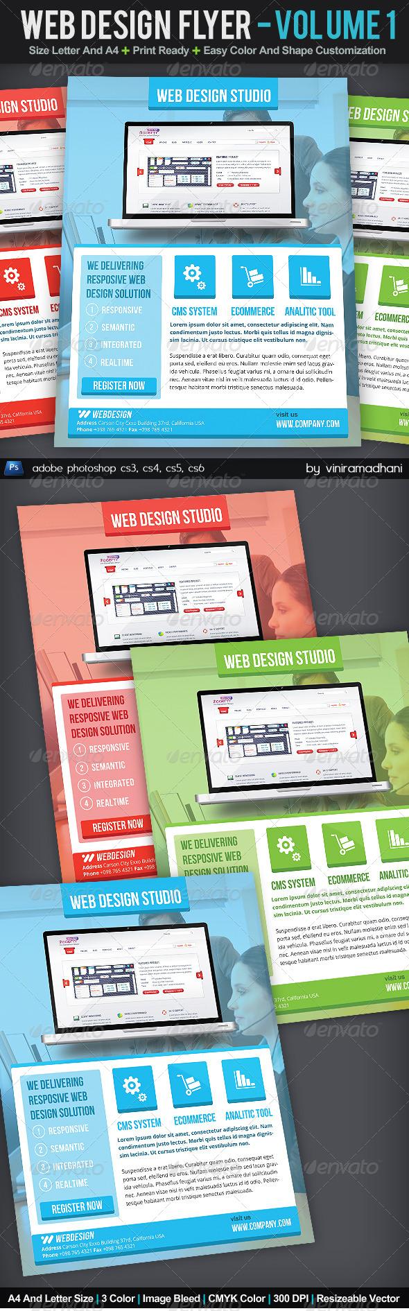 GraphicRiver Web Design Flyer Volume 1 5986607