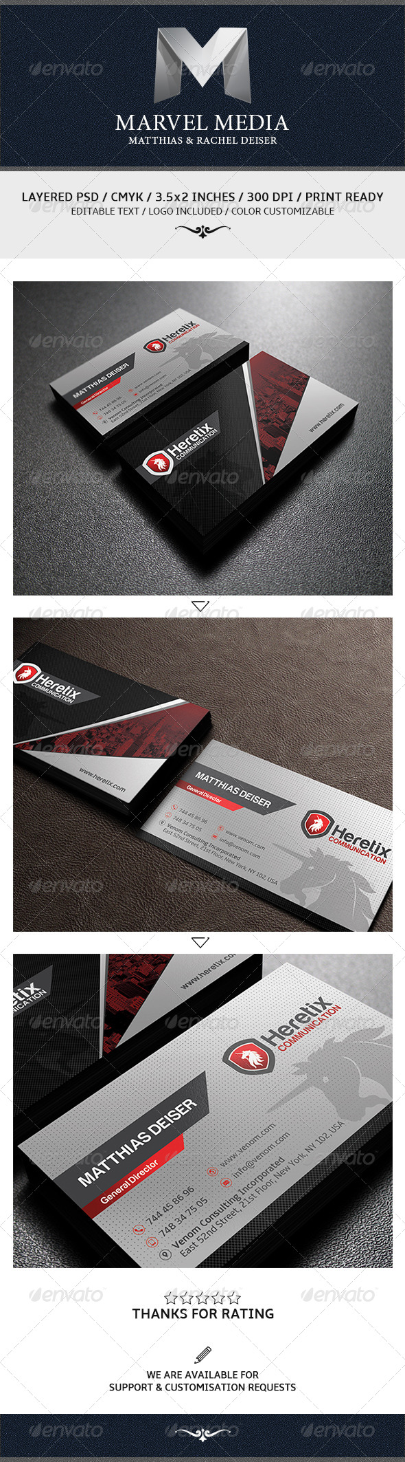 GraphicRiver Modern Corporate Business Card 5986616