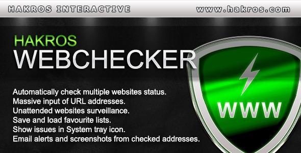 CodeCanyon Hakros WebChecker 5986725