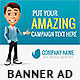 Business Cartoon Web Banner
