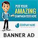 Business Cartoon Web Banner