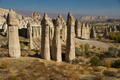 Stone  Columns in Love Valley of Cappadocia Turkey - PhotoDune Item for Sale