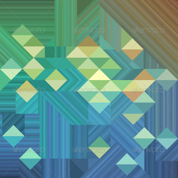 GraphicRiver Geometric Retro Background 5986783