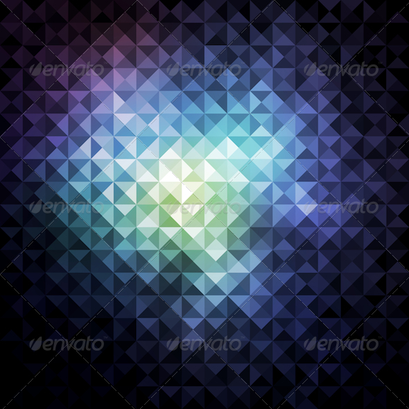 GraphicRiver Geometric Mosaic Background 5986903