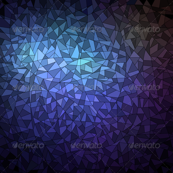 GraphicRiver Geometric Mosaic Background 5986912