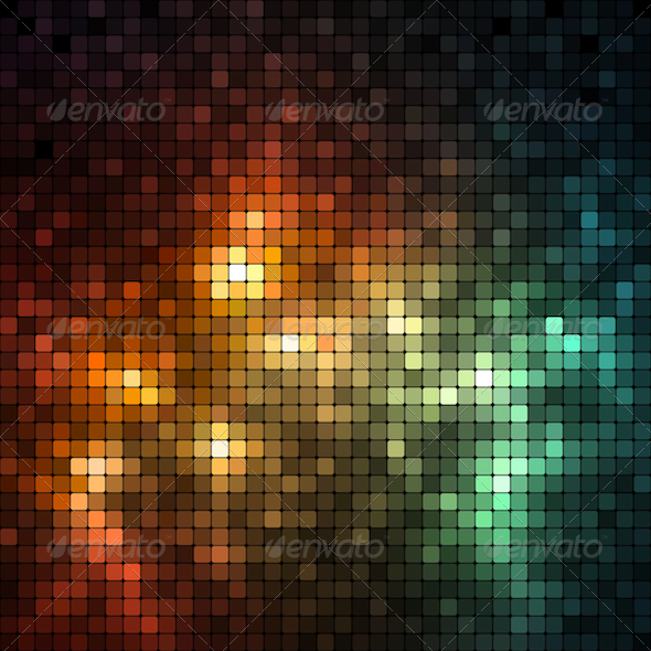 GraphicRiver Shiny Mosaic Banner 5986971