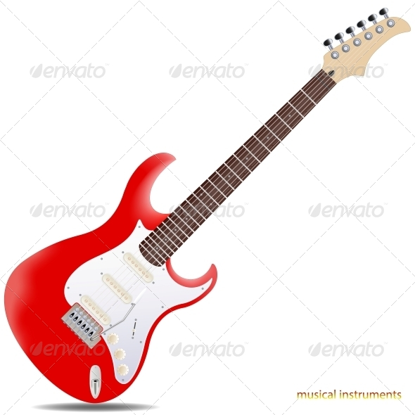 GraphicRiver Electric Guitar 5987142