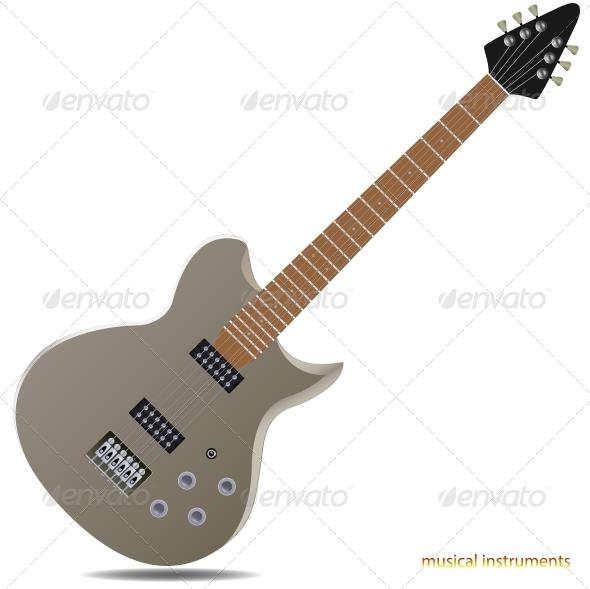 GraphicRiver Electric Guitar 5987148