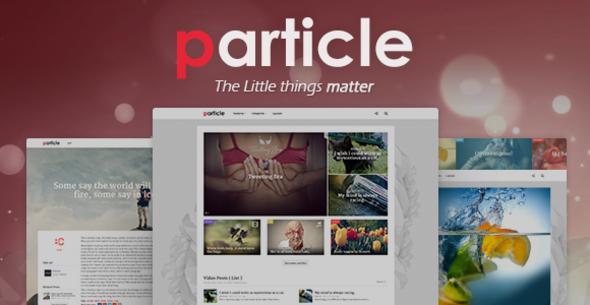 ThemeForest Particle WP Magazine Theme 5987735
