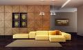Interior of Luxury Lounge Room